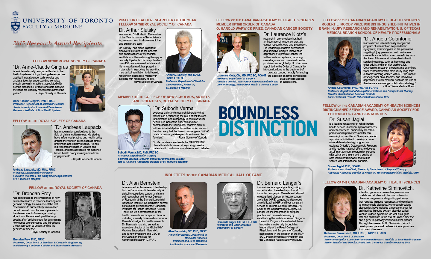 2015 RAC Boundless Distinction Poster