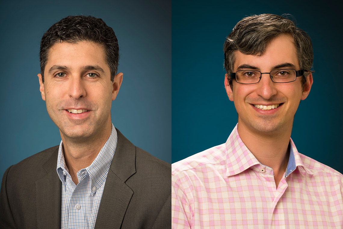 Dr. Ayal Schaffer and Dr. Mark Sinyor, both in U of T's department of psychiatry in the Faculty of Medicine and associate scientists at the Sunnybrook Research Institute, have helped develop guidelines for Canadian journalists for reporting on suicide