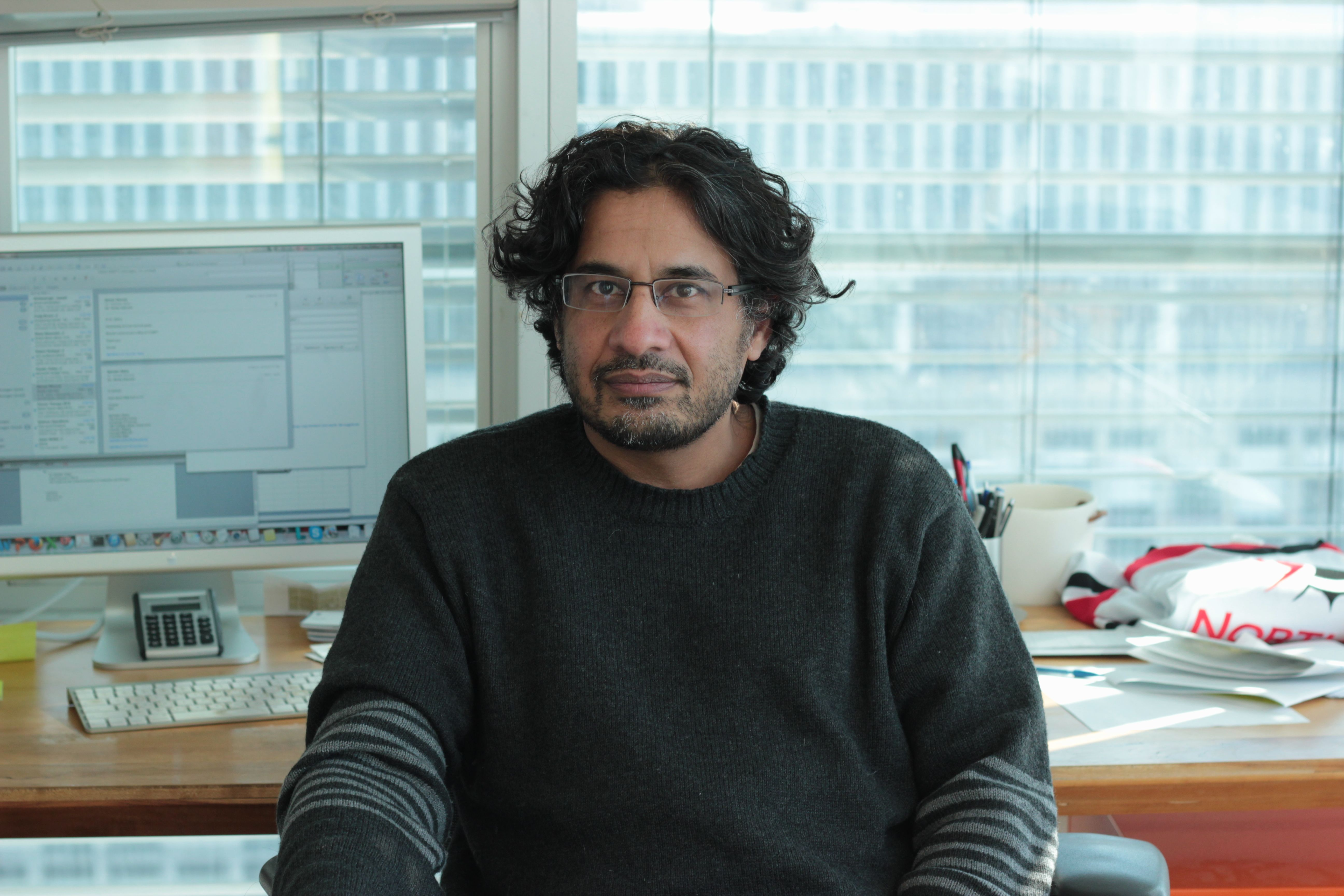 Dev Sidhu, a Professor in University of Toronto's Donnelly Centre