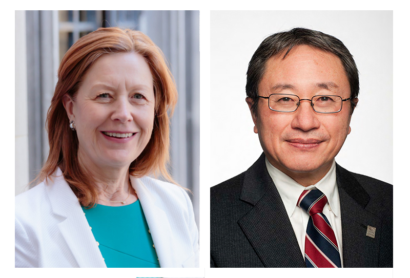 Drs. Nancy Down and Homer Yang