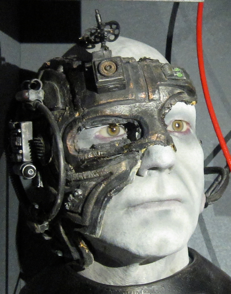 Jean-Luc Picard as Borg by Gryffindor via Creative Commons