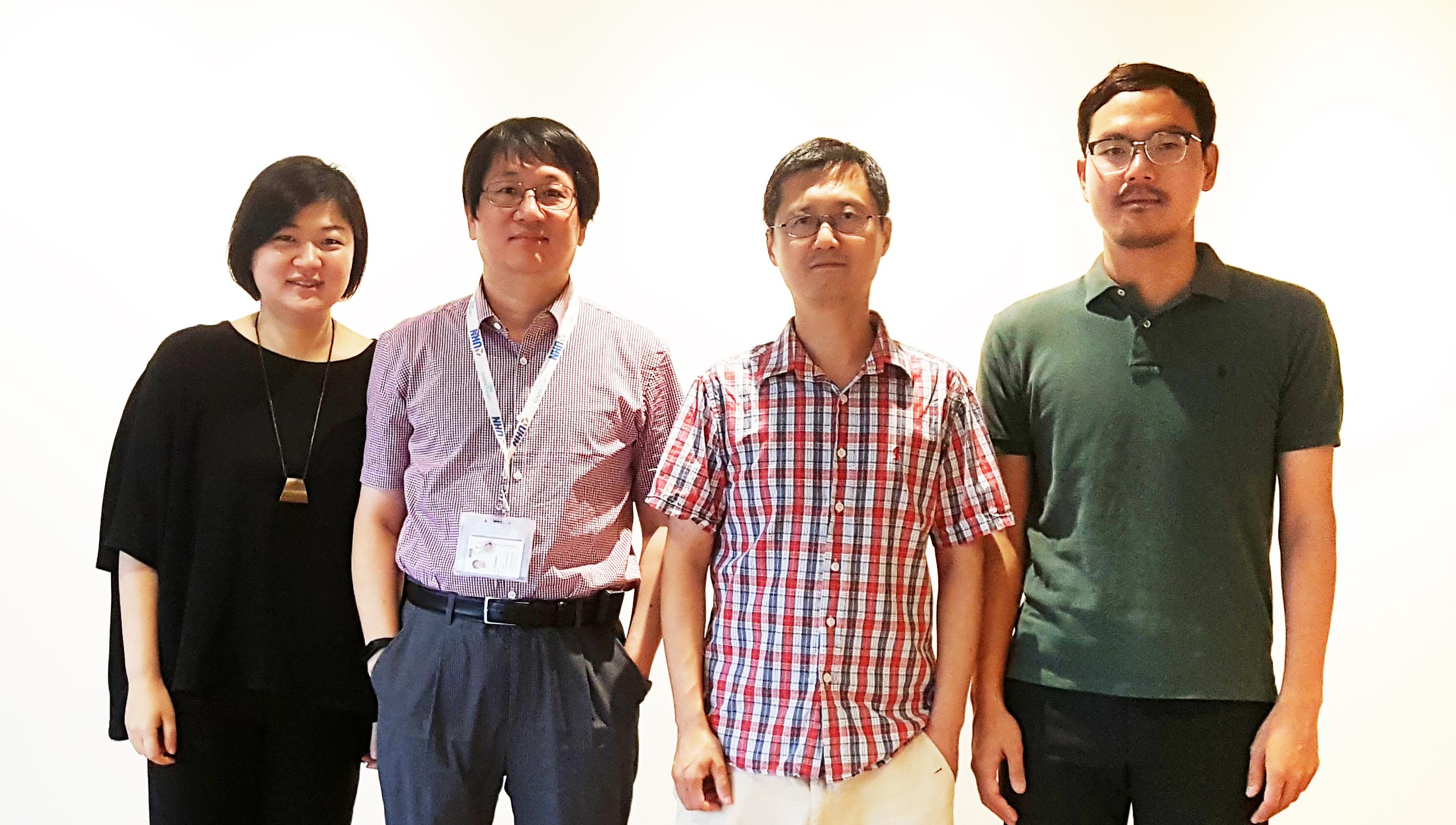 Korean & Canadian scientists