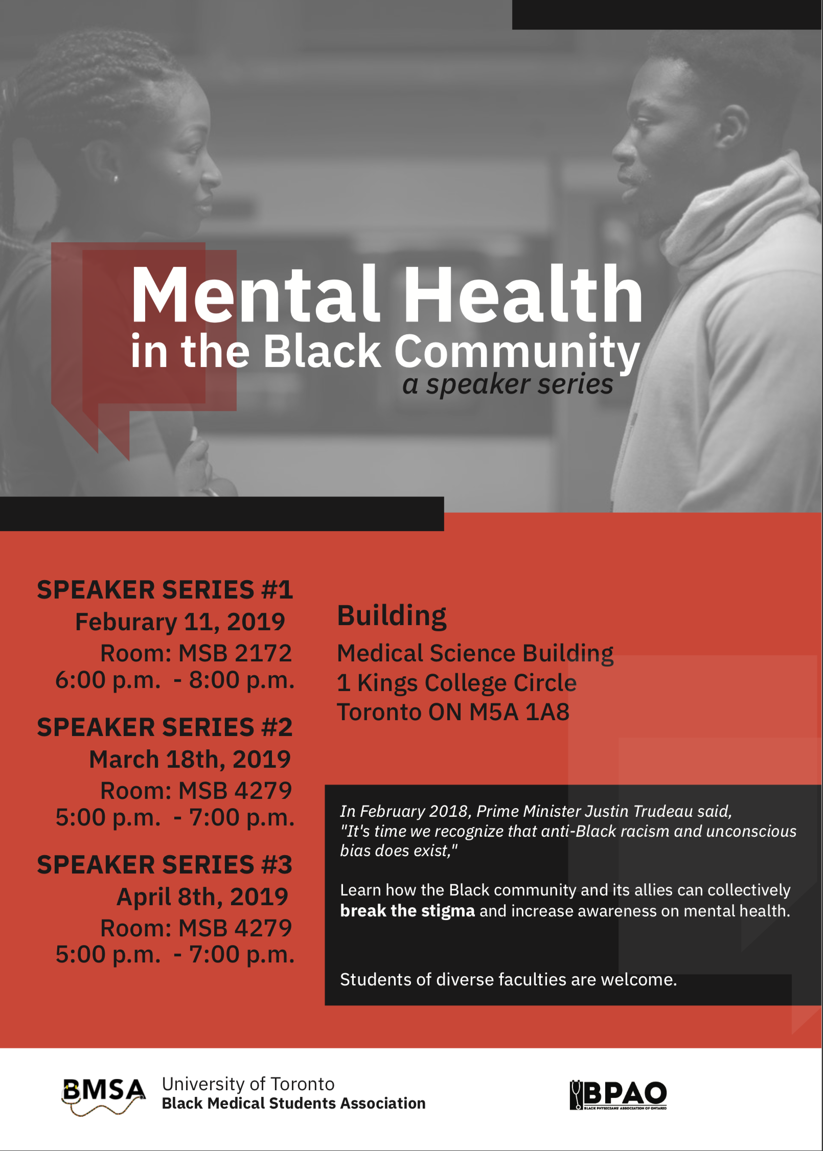Mental Health in Black Community Poster