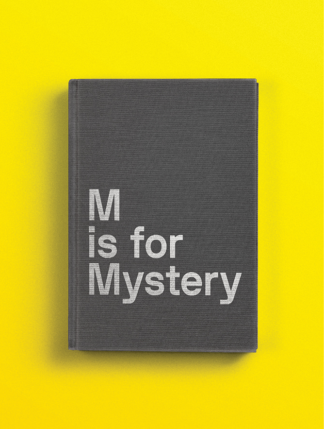 M is for Mystery (Magazine Cover)