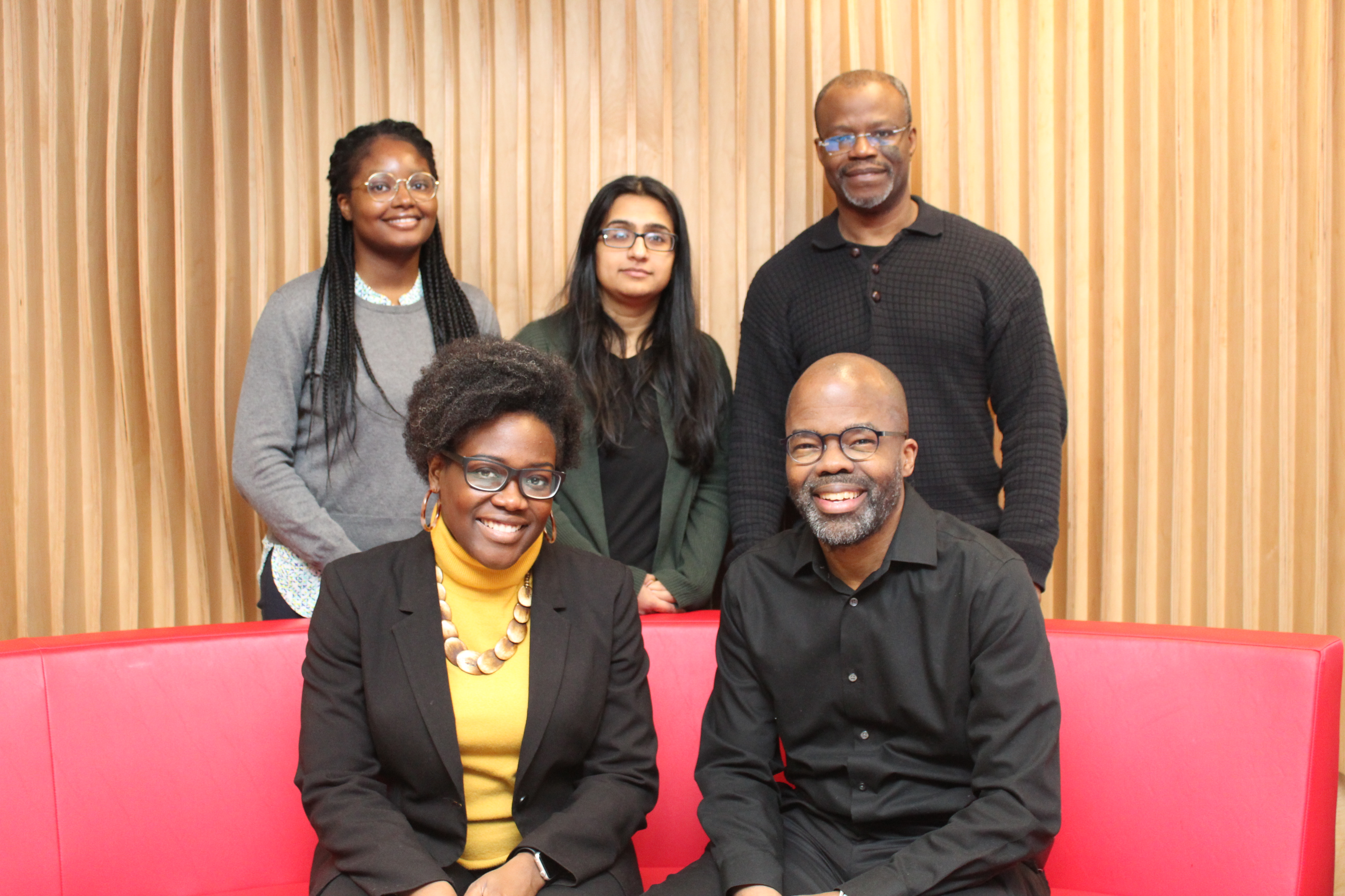 Professor Onye Nnorom (front left) and colleagues
