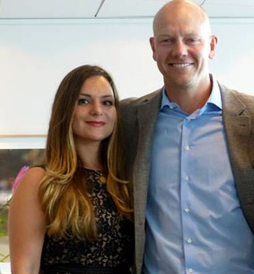 Sophie Petropoulos and Mats Sundin